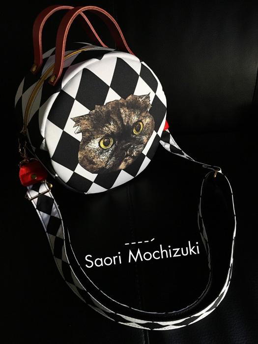 Saori Mochizukiのネコ&フレディ・マーキュリーのオーダーメイドバッグ