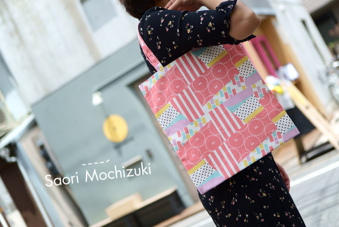 東京のオリジナルバッグブランドSaori Mochizukiの「オオズモウ 中目黒場所」シリーズ