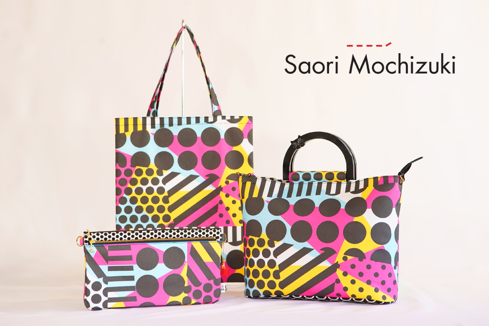 Saori Mochizukiの新作バッグ・原点回帰・ピンク