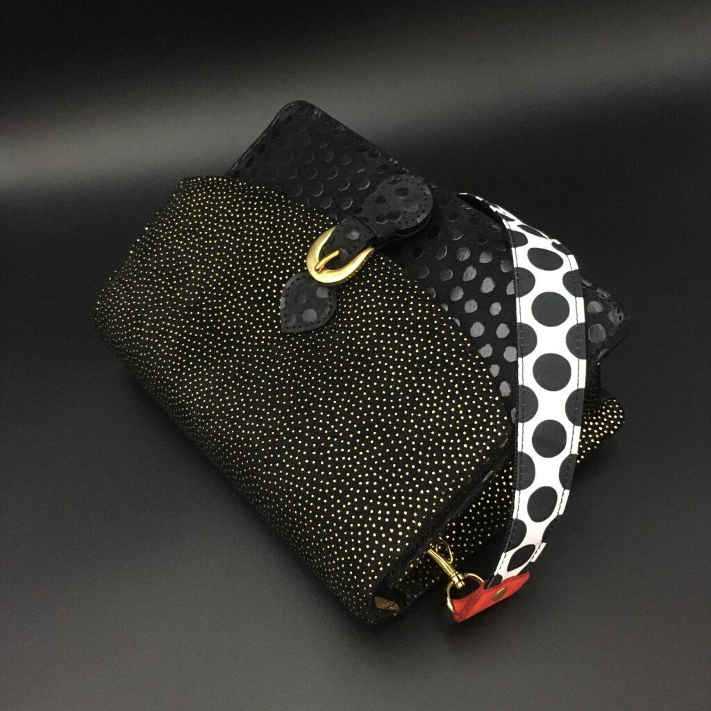 Saori Mochizuki(サオリモチヅキ/望月沙織)の水玉のショルダーバッグ