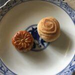 香港の小月餅と豆沙酥